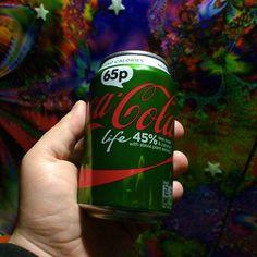 Tak trudno dostępna w kraju cebuli. #CocaCola #Life której składnikiem jest moja ulubiona #stevia - w smaku najlepsza z całej serii. #good #drink #green #food #cool
