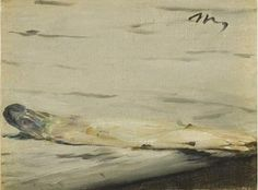 senza dedica: L'asparago di Manet