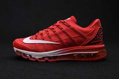 new style 24186 6ffa6 Buy Latest Nike Air Max 2016 II Sneakers Nano TPU Material Hyper Crimson  White Mens Running Shoes Online Sales from Reliable Latest Nike Air Max  2016 II ...