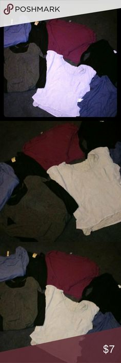 Women Top Bundle Size-M and Large Good condition trying to clean closet out Tops