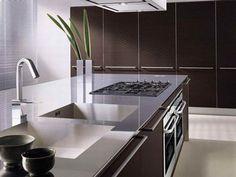 1. Классика в стиле дизайна кухни Хайтек. 2. Classics in the style of design kitchen HiTech.