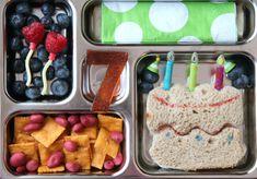 Family Lunch box Ideas Week 12 - Happy Birthday Lunchbox -  FamilyFreshMeals.com
