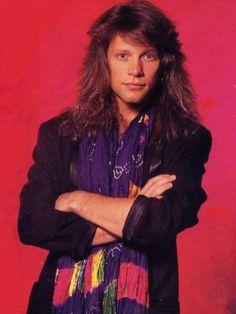 Jon Bon Jovi late 80's