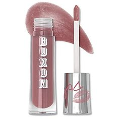 The Buxom lip glosses from Bare Escentuals is wonderful. It has a minty, plumping effect, feels great, and lasts.