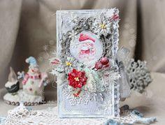 Scrap-Imaginarium: Очаровательно-зимняя шоколадница