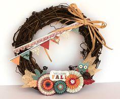 Acorn Hollow Fall Wreath featuring Greta Hammond