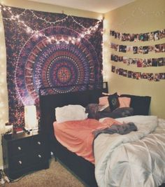 Nine Creative Ways To Use String Lights In The Bedroom Apartment