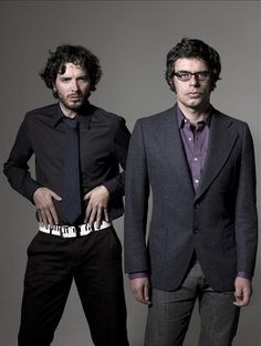 Bret McKenzie and Jemaine Clement; Flight of the Conchords