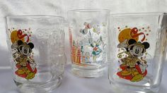 Used (normal wear) - I have one Walt Disney World remember the magic 25th anniversary glass also have 2 McDonalds collectible Disney glasses Animal Kingdom 2000 all are in good condition no chips or cracks. Serious inquiries only... pick up point is Walmart parking lot by 295 and State Road 13 (San Jose Boulevard)