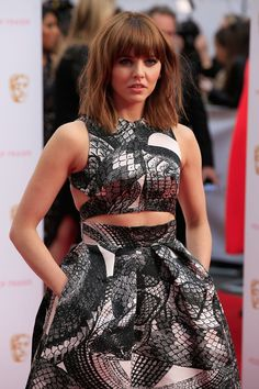 Ophelia Lovibond Photos Photos - Ophelia Lovibond attends the House of Fraser British Academy Television Awards (BAFTA) at Theatre Royal on May 2015 in London, England. - House of Fraser British Academy Television Awards - Red Carpet Arrivals Hooten And The Lady, Ophelia Lovibond, Rachael Taylor, Jennifer Connelly, Jessica Biel, House Of Fraser, British Actresses, Keira Knightley, New Hair
