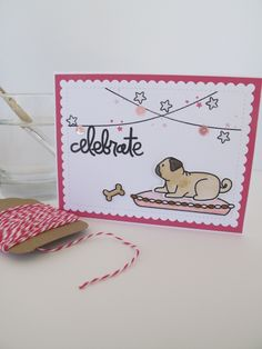 Furry Friends - Avery Elle.  Card by Nicky Noo Cards https://www.facebook.com/nickynoocards/