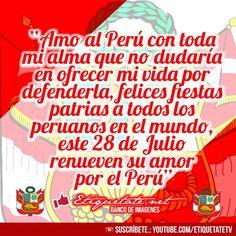 #Imágenes + #Mensajes por fiestas patrias #Perú