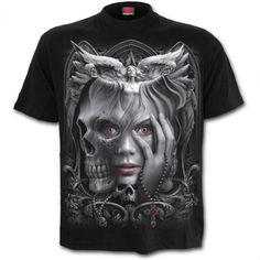 "T-shirt Spiral Gothique ""Dark Fusion"""
