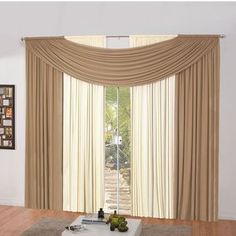 Package Contents: 01 Curtain for simple man x Composition: Polyester mesh gel. 3 Window Curtains, Home Curtains, Country Curtains, Curtains Living, Curtain Designs, Soft Furnishings, Luxury Homes, Home Furniture, Home Goods