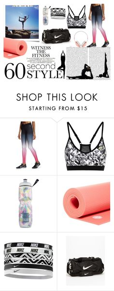 """""""Yoga"""" by yitxyn on Polyvore featuring NIKE, Victoria's Secret, Manduka and Frends"""