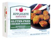 Natural Gluten Free Breaded Chicken Nuggets from Applegate Naturals- pretty good