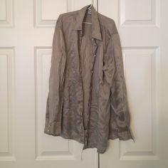 100% silk dress top Needs ironed Tops Button Down Shirts