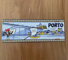 PORTO | License Plate Cities Tourism OPORTO, PORTUGAL - Metal Sign Decor (new) #Unbranded #VintageRetro Duck Egg Blue Wall, Portugal, Key West Florida, Vintage Metal Signs, Tin Signs, Hanging Signs, Plate, Vintage Travel, Decoration