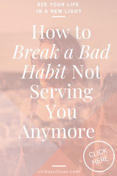 Whatever scenario you identify with in your own life, you can start today to do this incredibly important work to learn how to break a bad habit for yourself. #breakhabits #lifecoach #spiritualcoach #intuitivelifecoach #lifecoachforwomen #newhabits #spirituallifecoach Spiritual Coach, Spiritual Life, Spiritual Growth, Personal Development Books, Self Development, Lighten Skin, Light Of Life, Holistic Approach, Good Habits