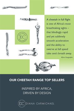 Cutlery, Cheetah, African Fashion, Diana, Range, Inspired, Top, Life, Inspiration