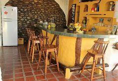 Enjoy some shade and refreshment at the Coconut Bar.  South Coast of Ecuador