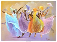 Shades of Color Faith in Motion 2018 African American Calendar featuring art by Lavarne Ross, x African American Culture, African American Artist, American Artists, Black Women Art, Black Art, American Calendar, Afrique Art, Prophetic Art, Art Africain