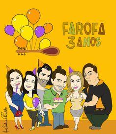 26/01/2017. 3 anos do site Farofa Cultural Ribeirão Preto!