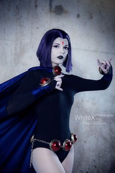 Raven from Teen Titans Cosplay http://geekxgirls.com/article.php?ID=8213