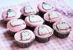 Cute fat kitty cupcakes!