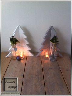 Kerstboomluikjes van steigerhout