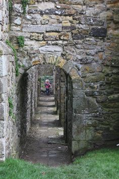 Running through the latrines at 1066 Battle of Hastings site