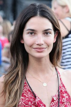 Lily Aldridge without make-up  (wish I looked that good)