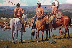 DAVID MANN Artist American Indian art prints
