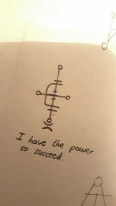 """themori-witch: """" """"I have the power to succeed"""", a sigil request made anonymously for success in examinations.✨ """""""