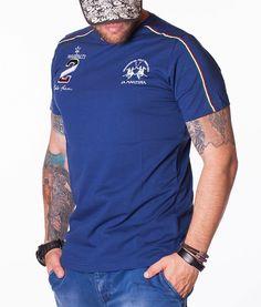 La Martina Camisetas cuello redondo - Maserati Polo Team 2 Camiseta Azul  Azul Marino 5d860ae8e068e