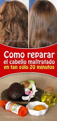 Cabello sano en tan sólo 20 minutos