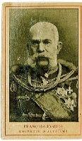 ROYALTY AUSTRIA - EMPEROR FRANCIS JOSEPH in uniform - Habsburg - Sadla Chocolate