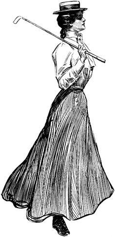 Charles Dana Gibson illustration
