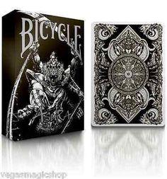 Asura Black Bicycle Playing Cards Deck