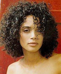 Lisa Bonet's Curly Medium Hairstyle