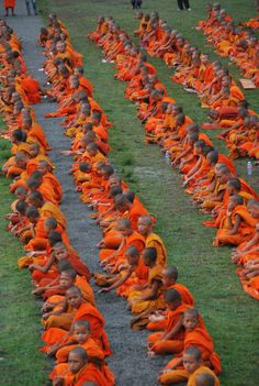 Monks in Cambodia.  Go to www.YourTravelVideos.com or just click on photo for home videos and much more on sites like this.