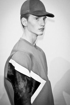 NEIL BARRETT - AW13 Menswear Collection - SHOW BACKSTAGE