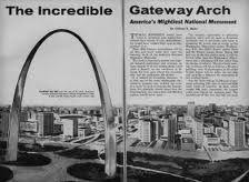 On this day in 1965 - The Gateway Arch was completed as part of the Jefferson National Expansion Memorial in St. Louis, Missouri ~ http://whathappenedonthisday.wordpress.com/