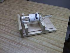 bottle cutter my husband made!!