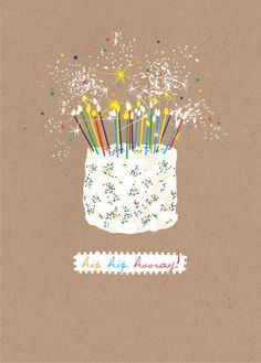 Debbie Edwards - Female Male Birthday Cake With Candles And Sparklers
