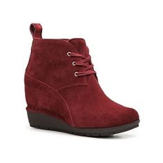 DSW Rockport Total Motion Wedge Bootie
