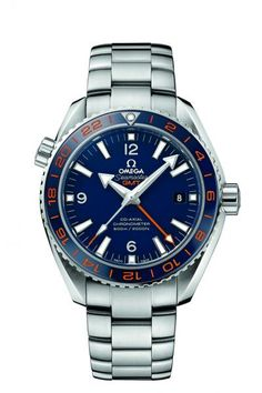 """OMEGA Seamaster Planet Ocean 600 M Omega Co-Axial  GMT  - """"GoodPlanet"""" . Model Number 232.30.44.22.03.001"""