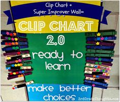 3rd Grade Thoughts: Clip Chart + Super Improver Wall= This Years Class Management System