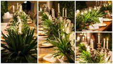 Arranjo de centro de mesa - Casamento Rústico-chique Foto Amais Fotografia