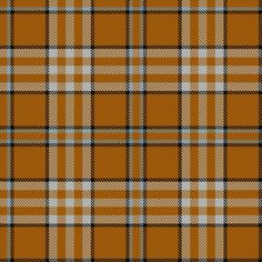 Tartan image: Tennessee Volunteer. Registration notes:	Students in the University of Tennessee's Department of Consumer Services Management were challenged by the Department's Advisory Board to develop new UT products. Out of this effort the idea emerged to establish a new tradition and create a signature plaid fabric that is uniquely UT. The Scottish Register of Tartans: Tartan Details - Tennessee Volunteer